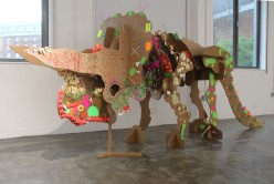 Created with kids at Dinosaur workshop