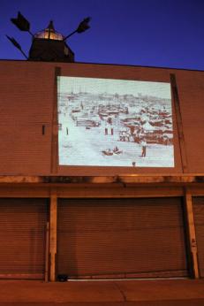 Projection Project w. Matthew Slaats, Anacostia DC 2012