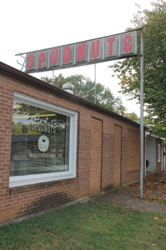 Spudnuts doughnut shop that's been here nearly 50 years