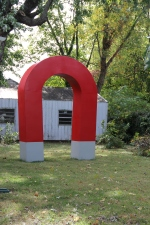 Ross McDermott's Giant Magnet - hope to get to the gallery...