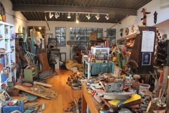 Kim Bogg's studio