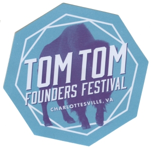 Tom tom festival sticker 1