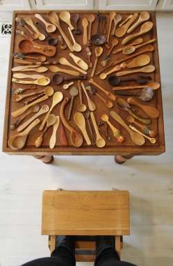 Photograph of Terri's Spoon Collection