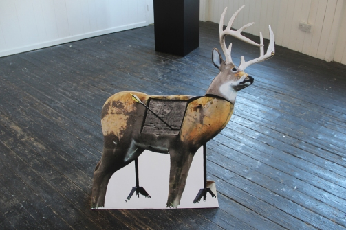 Stand up deer (adapted from NY residency)
